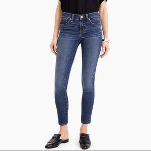 """J.Crew 8"""" toothpick Jeans"""